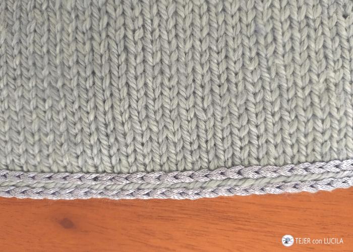 galon terminacion crochet seda