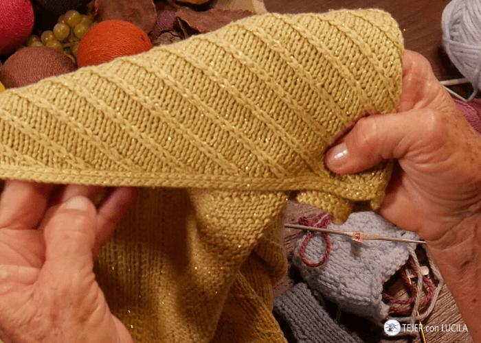 galon terminacion crochet