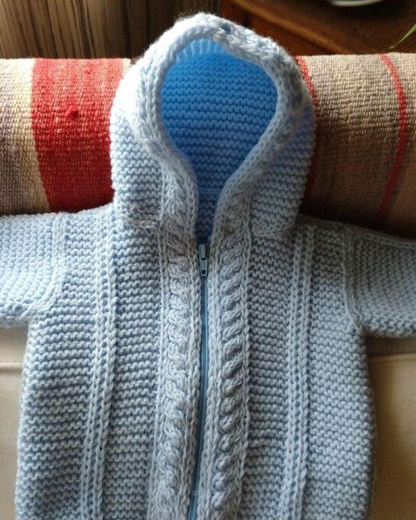 saco capucha bebe
