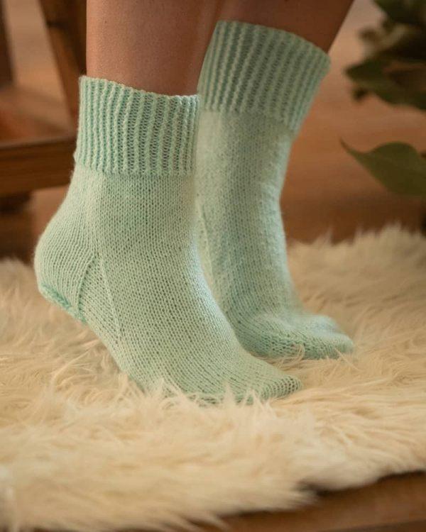 patron tejer medias calcetines