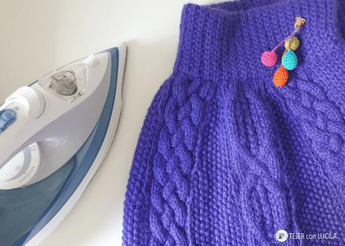 planchar ropa lana