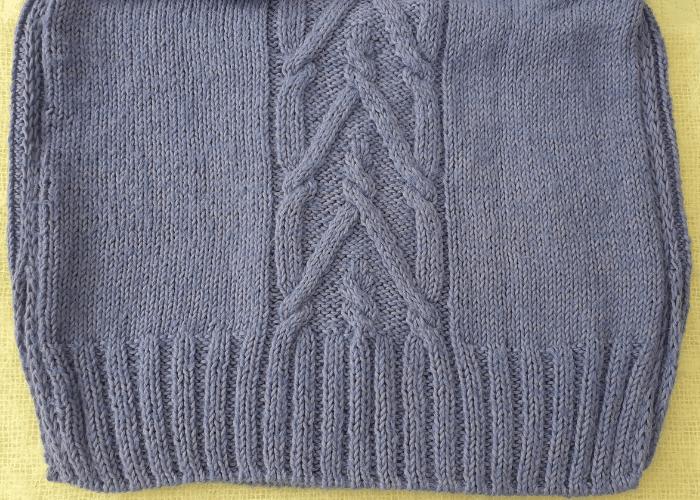 cómo hacer dibujos en un jersey desde elástico